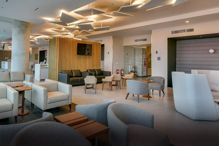 VIP Lounge en el aeropuerto Juan Santamaría