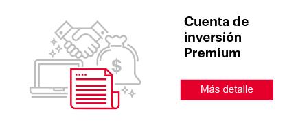 Cuenta de inversión Premium