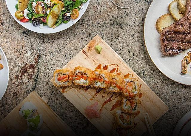Disfrutá un 40% de descuento en todo el menú a la carta en Saga Restaurante