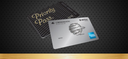 Beneficios acceso con Millas Plus Platinum American Express® de Credomatic