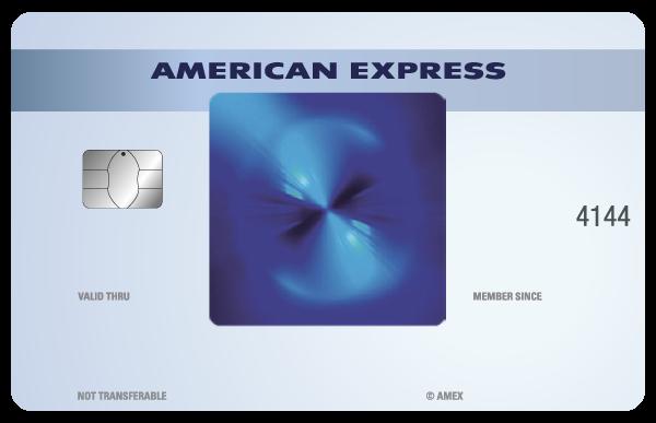 Tarjeta de Crédito AMEX American Express Cashback Blue Azul