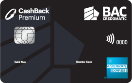 Tarjeta de Crédito Cashback Premium de BAC Credomatic