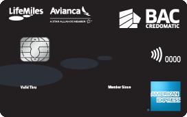 Tarjeta de crédito LifeMiles de BAC Credomatic