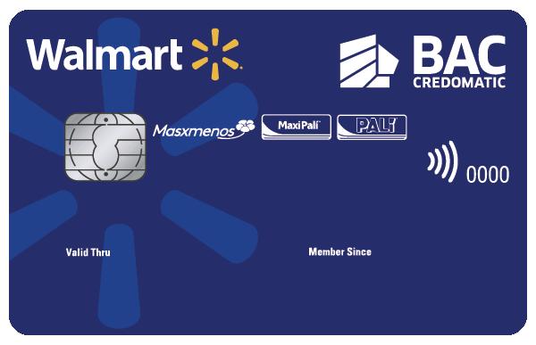 Tarjeta de Crédito Walmart Clásica Azul