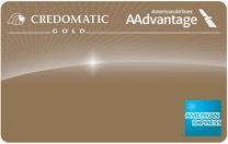 Tarjeta AAdvantage de Credomatic dorada