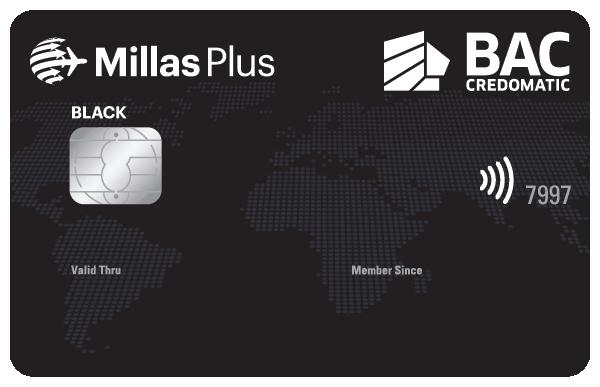 Tarjeta de crédito Millas Plus Guatemala Black