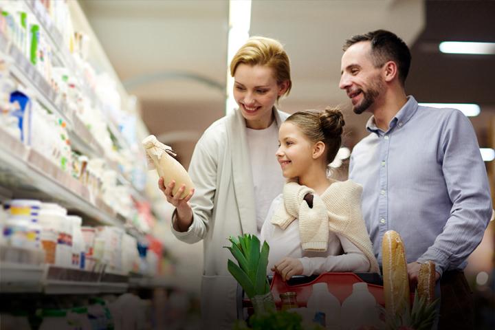 cluster supermercado