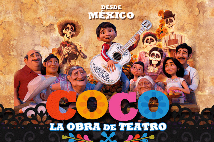 Coco la obra de teatro