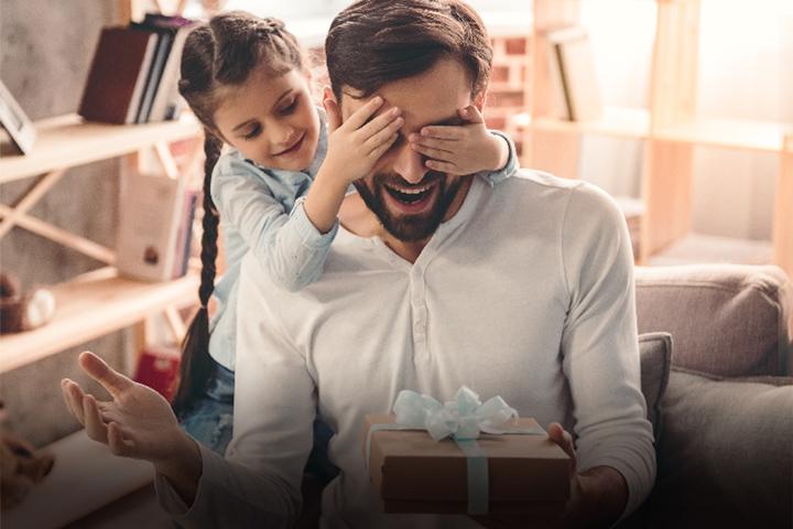 Celebra a papá en casa con tu tarjeta
