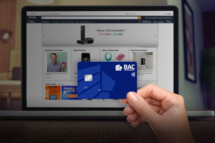 Black Weekend tarjeta de crédito