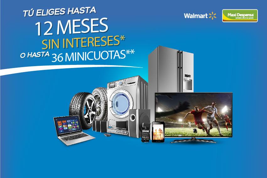 Promoción Walmart y Maxi despensa