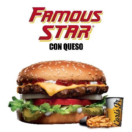 Famous star con queso