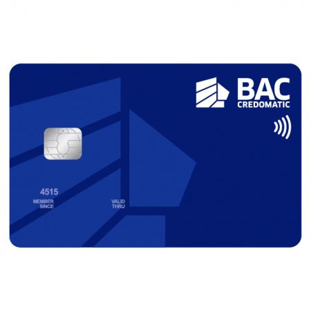 Tarjeta de credito BAC Credomatic