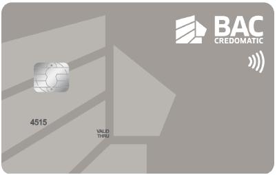 Tarjeta de crédito BAC Credomatic
