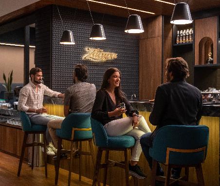 VIP lounge casa del ron
