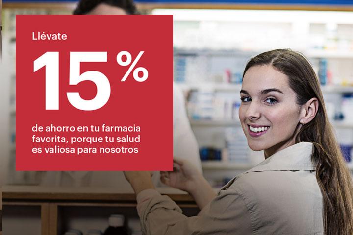 ahorro en farmacias