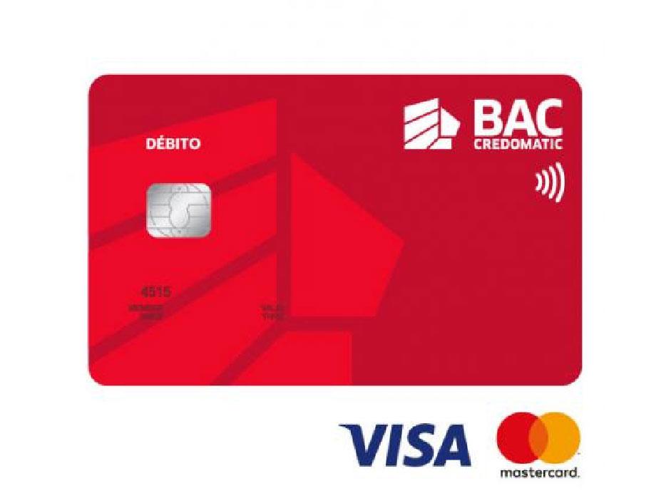 tarjeta debito BAC Credomatic