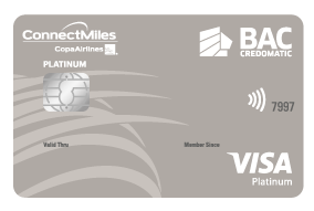 tarjeta connectmiles platinum