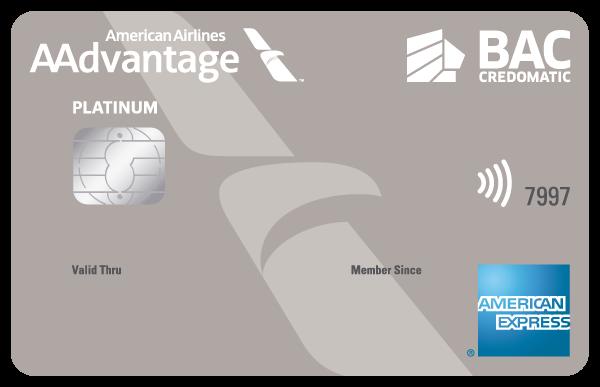 Tarjeta AAdvantage Platinum