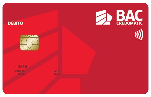 Tarjeta de Crédito Débito Honduras BAC Credomatic