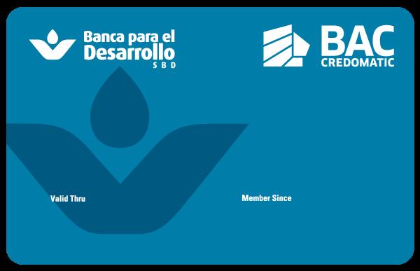 tarjeta de crédito SBD