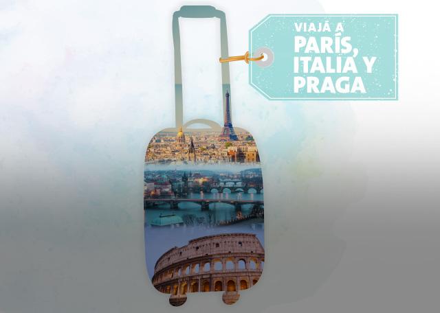 VIAJA A PARÍS, ITALIA Y PRAGA con BAC Objetivos