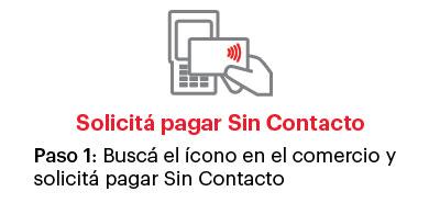Paso 1 pago sin contacto