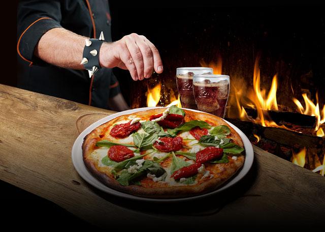 PIZZA ROCKS PRIMERA EDICIÓN con Credomatic