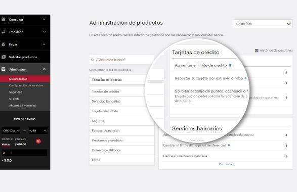 Actualizar tus datos personales en banca en línea de BAC Credomatic Paso 3