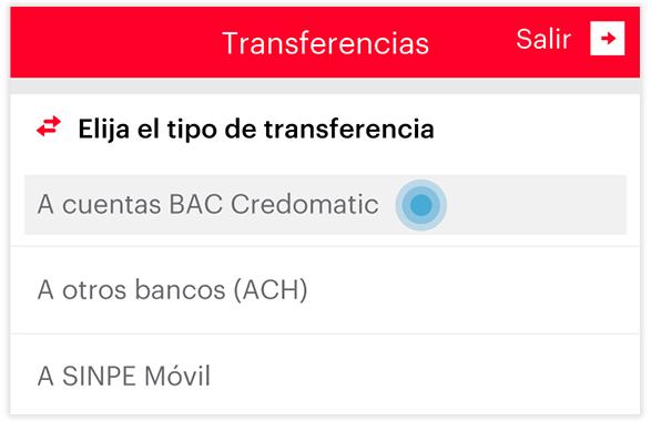 Transferencia local - Paso 2