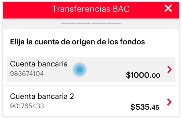 Transferencia local - Paso 3