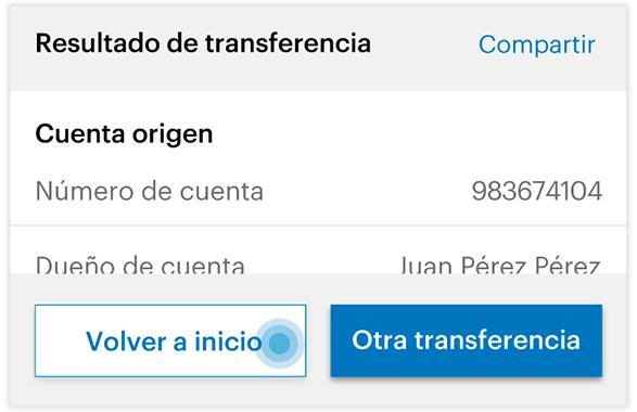 Transferencia SINPE MOVIL - Paso 7