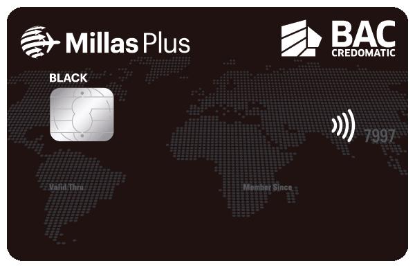 Tarjeta de Crédito Millas Plus Black Nicaragua BAC Credomatic
