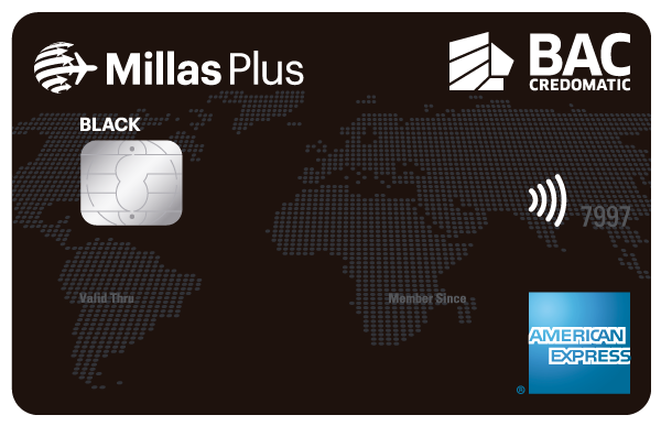 Tarjetas de Crédito Millas Plus Black
