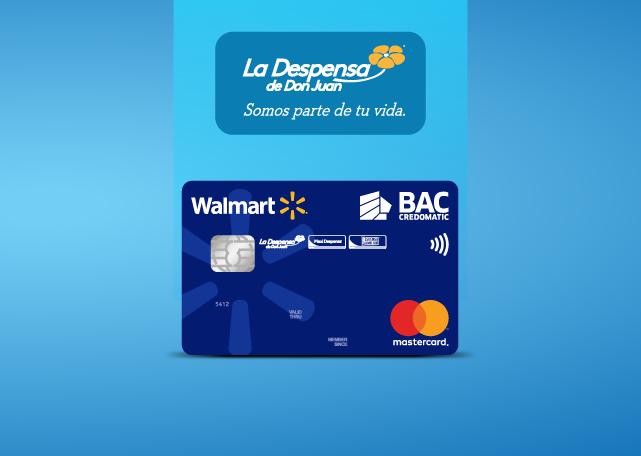 Tarjetas Walmart de BAC Credomatic