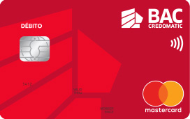 Tarjeta de débito Mastercard de BAC Credomatic