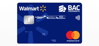 Tarjetas Walmart