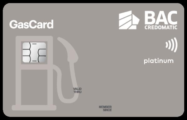 Tarjeta de crédito Gascard Platinum