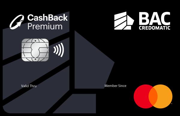 Tarjeta Cashback premium Mastercard