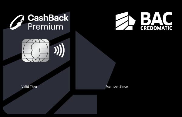 Tarjeta Cashback premium genérica