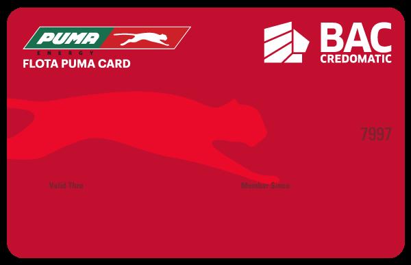Tarjeta de Crédito Puma Roja BAC Credomatic