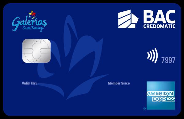 Tarjeta de Crédito Galerías Santo Domingo