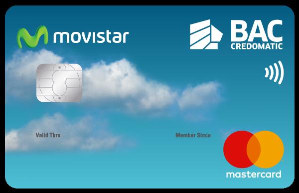 Tarjeta de Crédito Movistar Clásica BAC Credomatic
