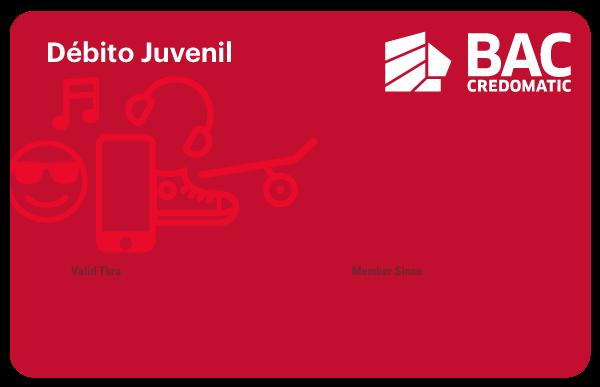 tarjeta débito juvenil